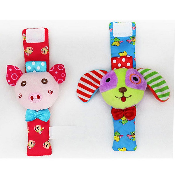 Baby Rattle Wrist Sock Toys Infant Kids