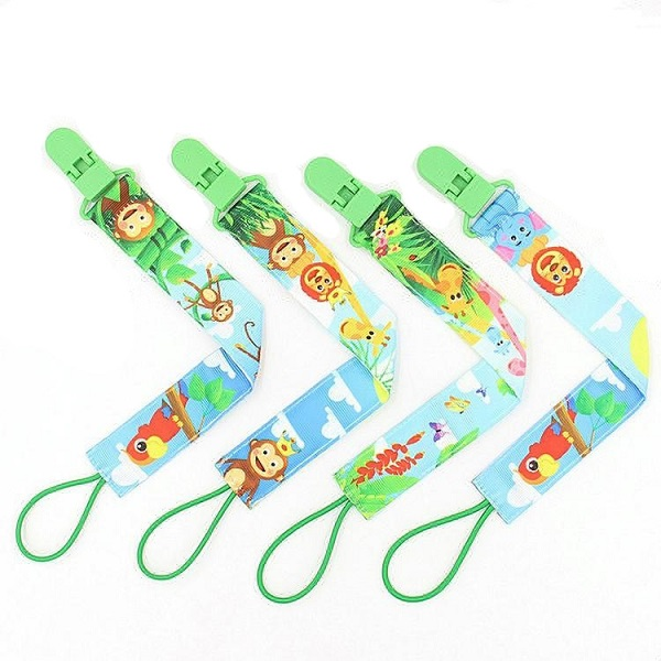 Wholesales metal baby pacifier clip | Teether holder