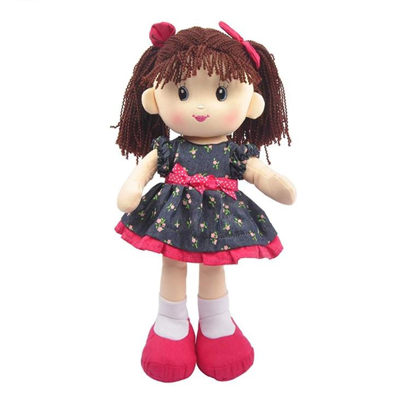 Soft toy Dollar plush toy rag dolls factory