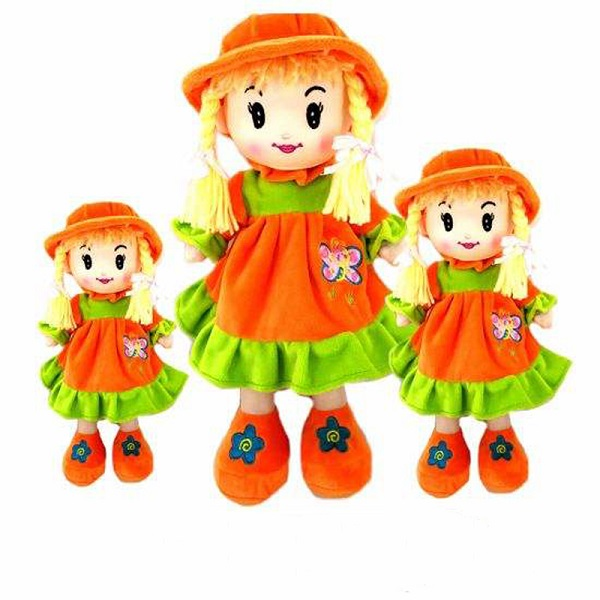 China wholesale customized Plush rag doll manufacturer
